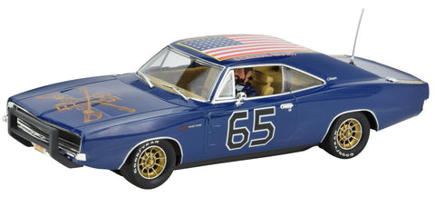 "Pioneer ""The General Grant"" Union Blue 1969 Dodge Charger DPR 1/32 Slot Car P096"