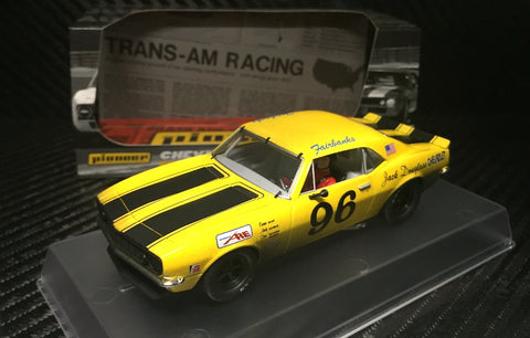 Pioneer 1968 Chevrolet Camaro #96 12hr Enduro Racer DPR 1/32 Scale Slot Car P102