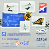 Premium Hobbies / Daron Postage Stamp F/A-18C Hornet VFA-25 Fist of The Fleet 1:150 Die-Cast Airplane PS5338-6