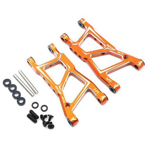 Yeah Racing HPI RS4 Sport 3 Orange Aluminum Rear Lower Arm Set RSS3-002OR