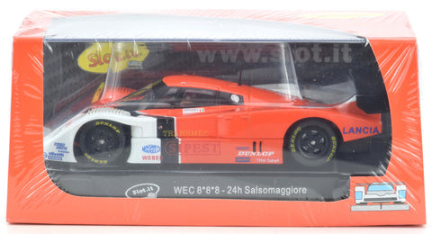 "Slot It ""Sipest"" Lancia LC2 - WEC 24hr Salsomaggiore 1/32 Scale Slot Car SC21A"