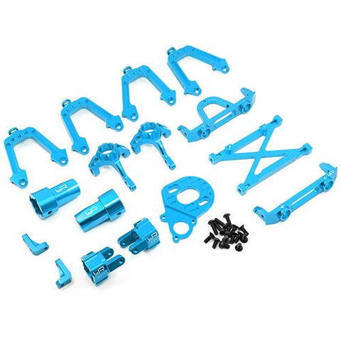 Yeah Racing Axial SCX10 Blue Aluminum Upgrade Kit SCX10-S01BU