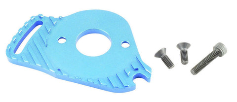 GPM Racing Traxxas Slash 4x4 LCG Blue Aluminium Heat Sink Motor Mount SLA018LCG-B