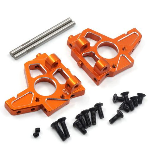 Yeah Racing HPI Sprint 2 Orange Aluminum Front Or Rear Bulkhead SPT2-027OR