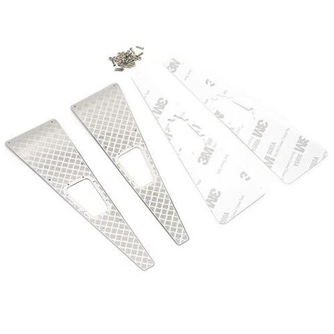Yeah Racing Traxxas TRX-4 Stainless Steel Front Hood Side Diamond Plate TRX4-020