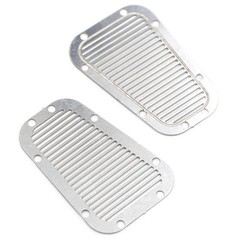 Yeah Racing Traxxas TRX-4 Stainless Steel Front Hood Vent Plate TRX4-021