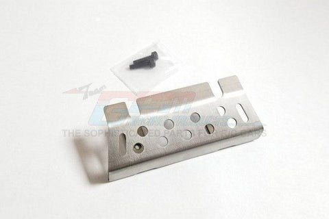GPM Racing Traxxas TRX-4 Stainless Steel Front Or Rear Chassis Skid Plate TRX4ZSP17-OC