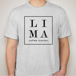 LIMA t-shrit (unisex) light grey