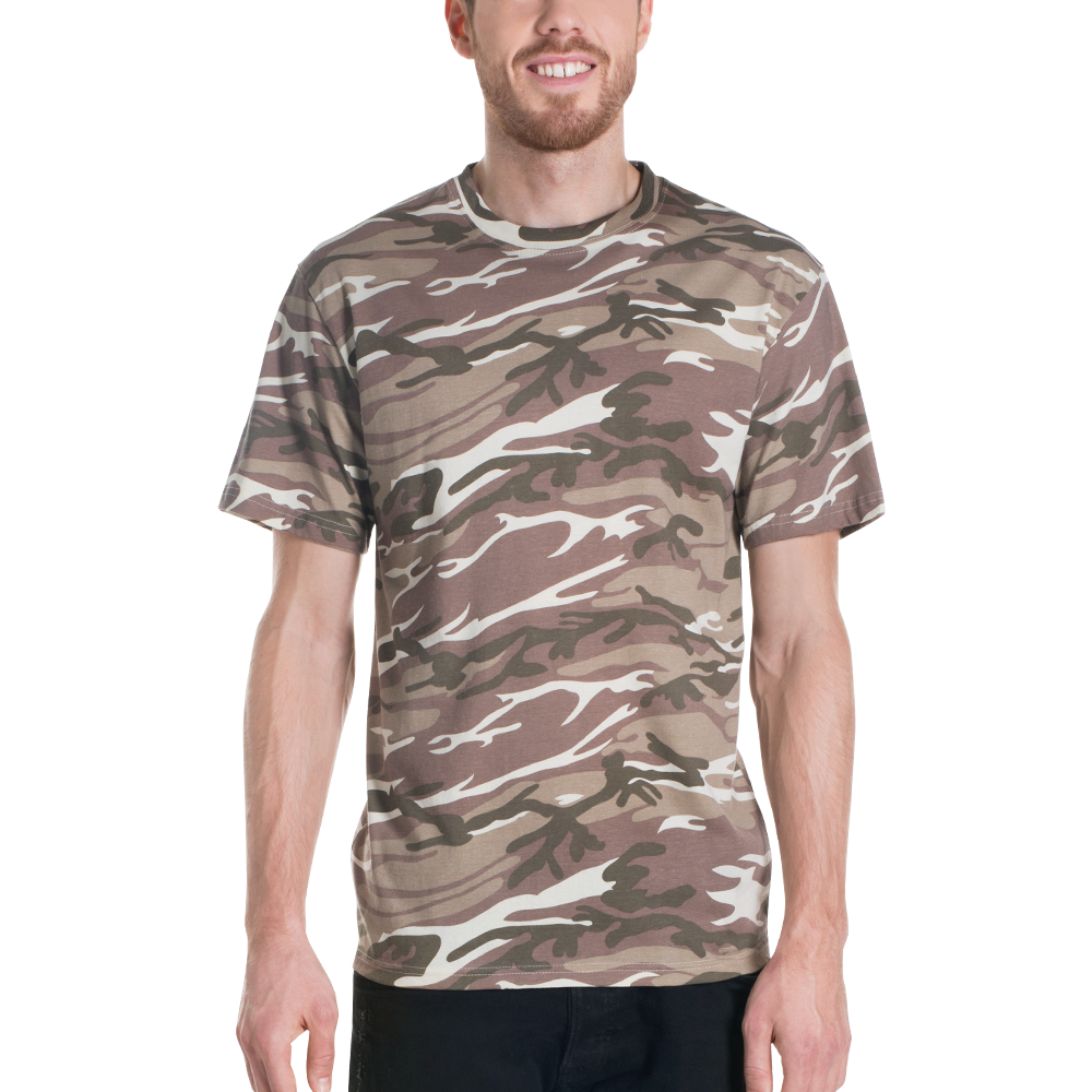 Short Sleeved Camo Tee