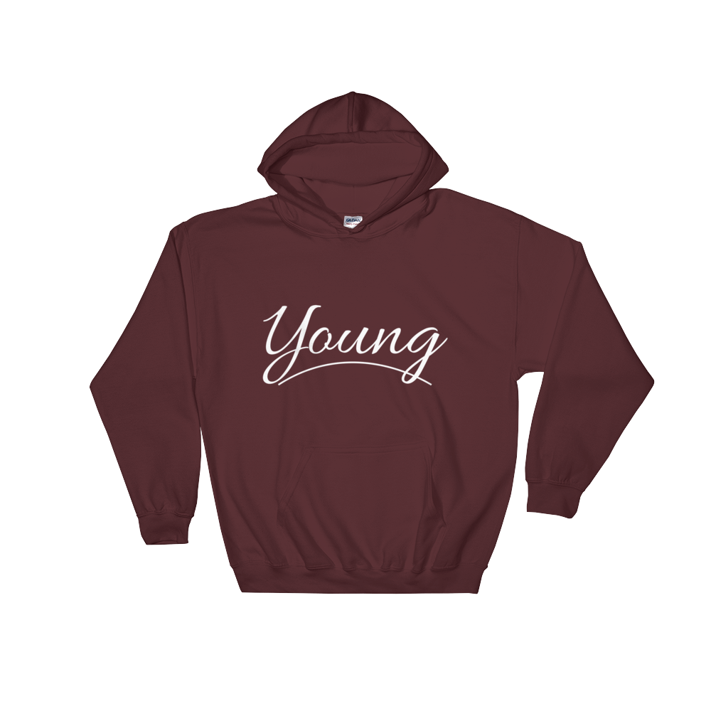 Young Hoodie (White Logo)