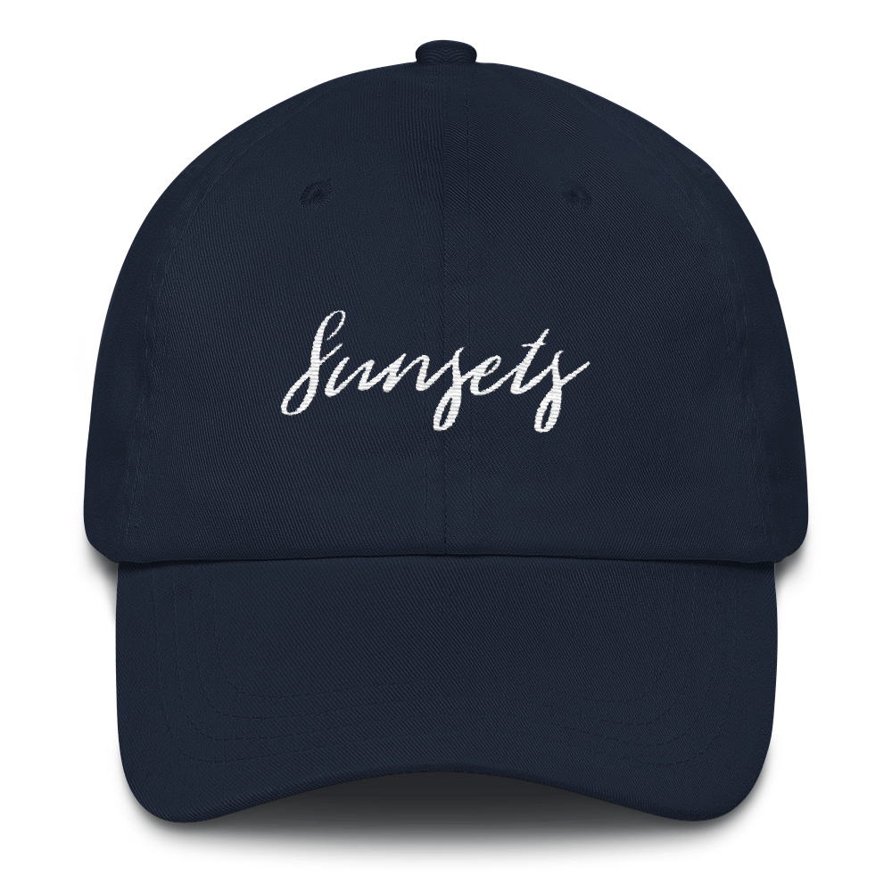 Sunsets Dad hat