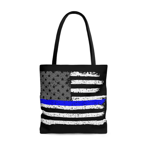 Thin Blue Line Police Wife Tote Bag