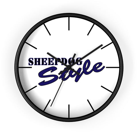 Sheepdog Style Wall clock