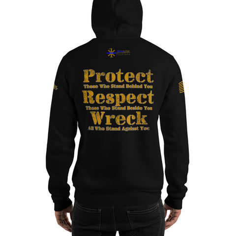 "ASPIS Gear ""Protect, Respect, Wreck"" Hooded Sweatshirt"