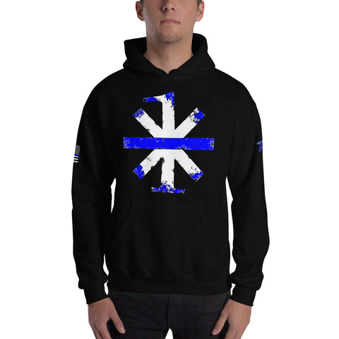 One Asterisk Sheepdog Style Hooded Sweatshirt