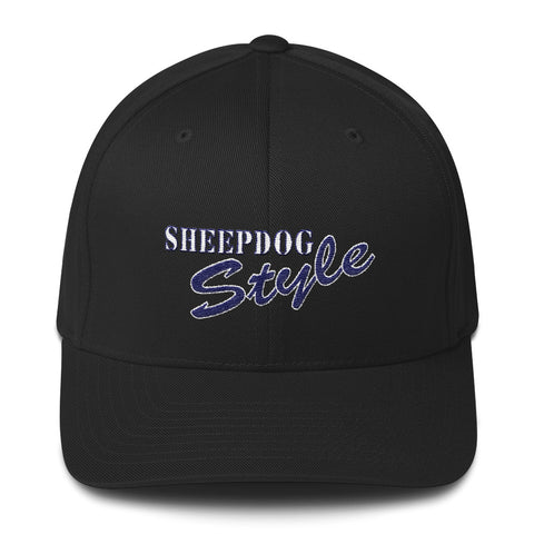 Sheepdog Style Structured Twill Cap