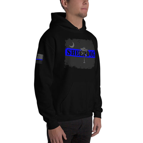 South Carolina Sheepdog Style (Subdued) Unisex Heavy Blend Hooded Sweatshirt