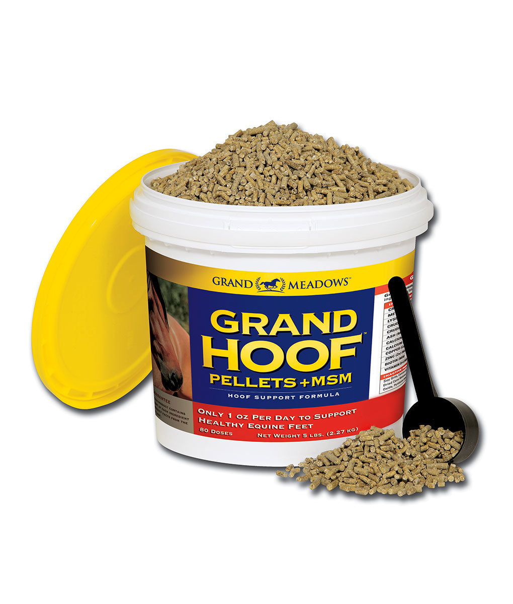 Grand Meadows - Grand Hoof Pellets + MSM
