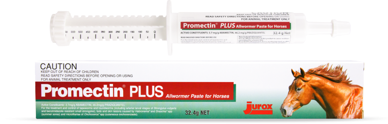 Promectin Plus Allwormer paste