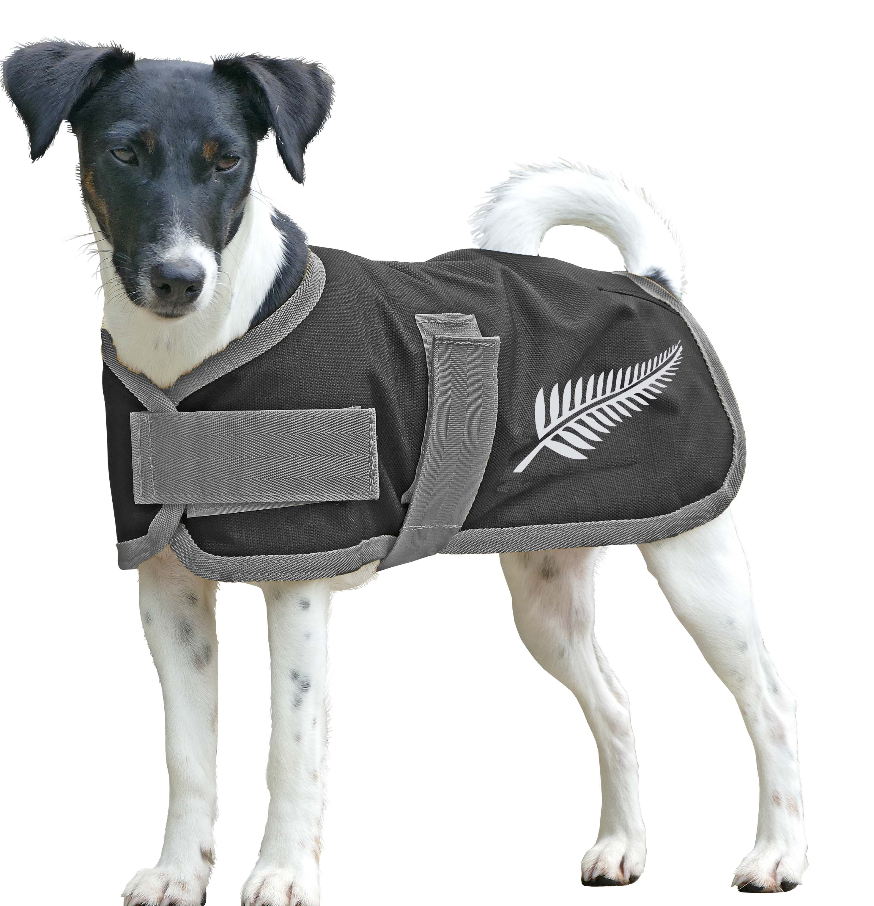 Cavallino Silver Fern Dog Coat
