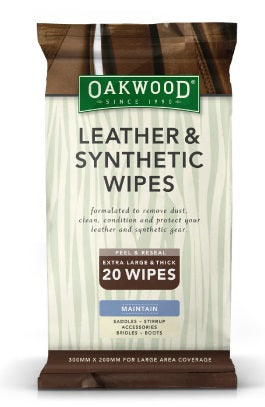 Oakwood Leather & Synthetic Wipes
