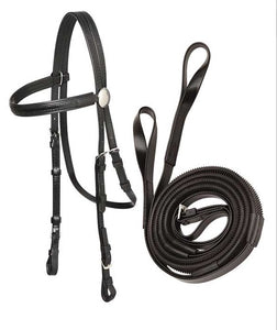 Zilco Race Bridle with Loop End Reins