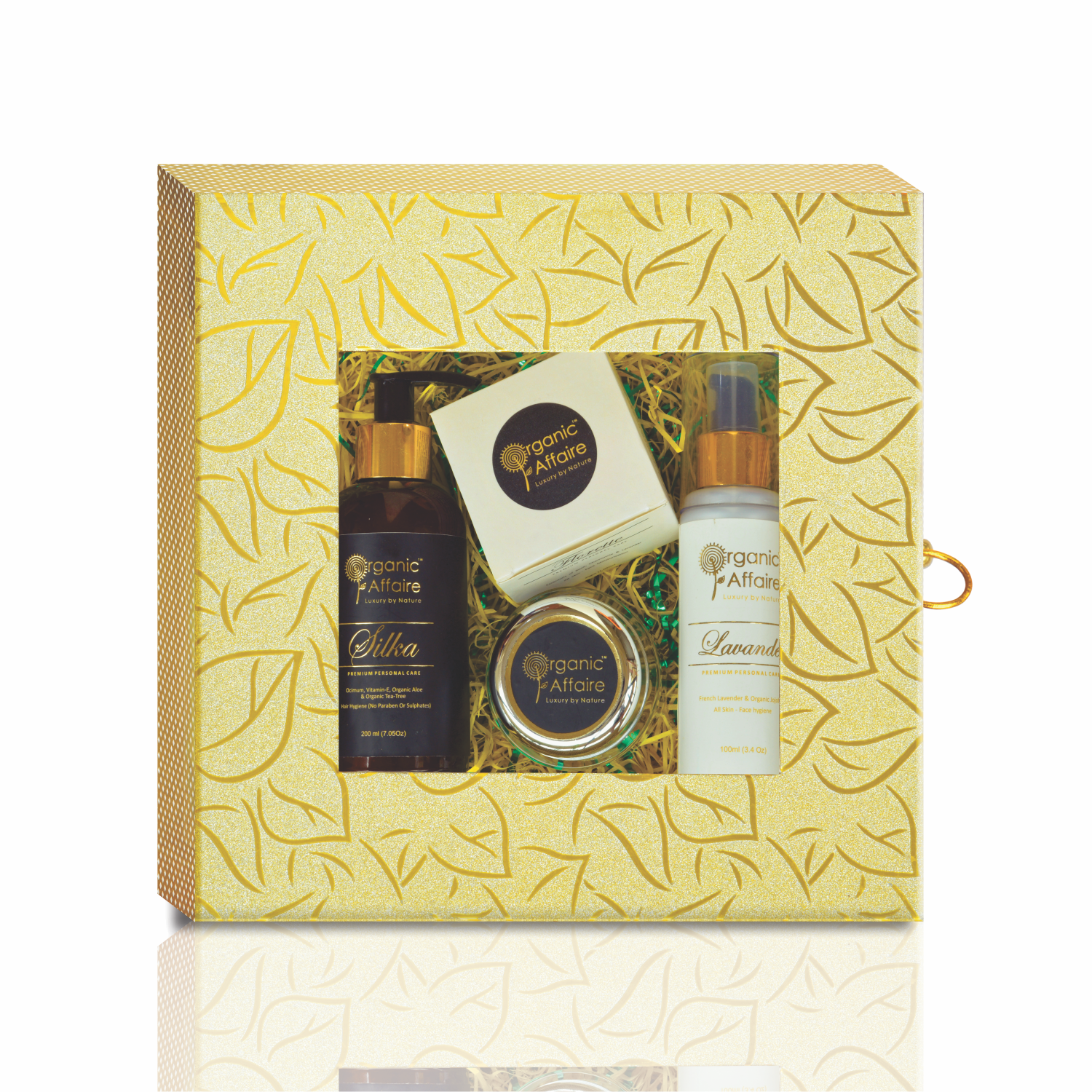 face hair care beauty combo gift pack organic affaire