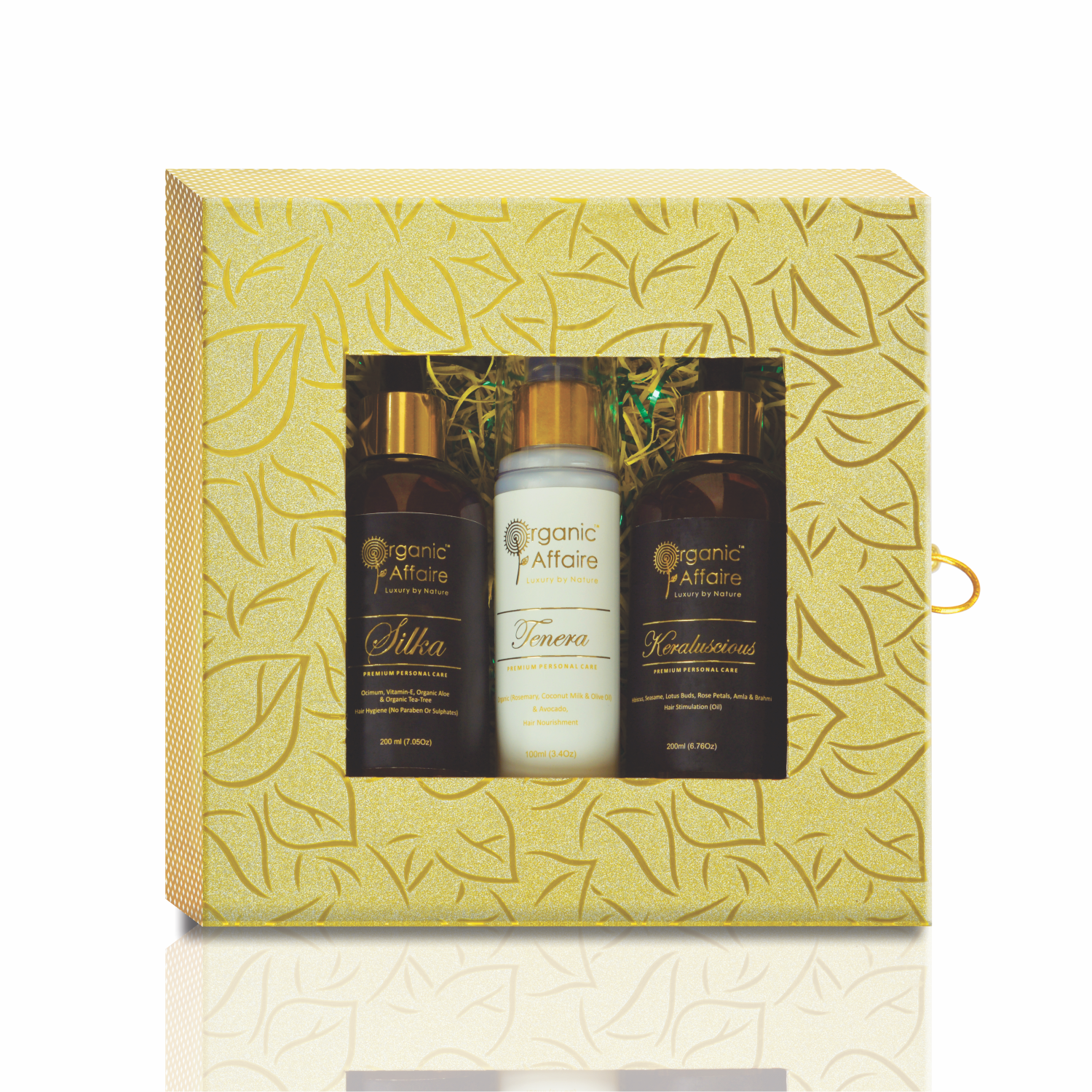 hair care beauty combo gift pack organic affaire
