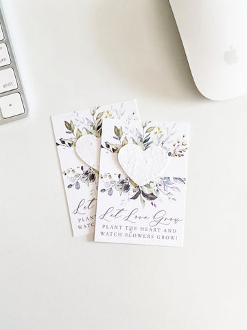 growNOTES™ Plantable Favors - Boho Eucalyptus Bloom