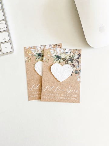 growNOTES™ Plantable Favors - Boho Eucalyptus