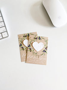 growNOTES™ Plantable Favors - Olive Branch