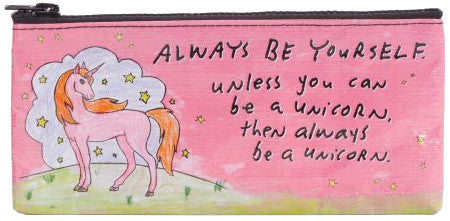 BlueQ Always Be Unicorn Pencil Case
