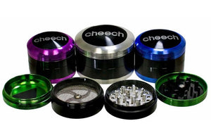 4 Piece 50mm Cheech Grinder