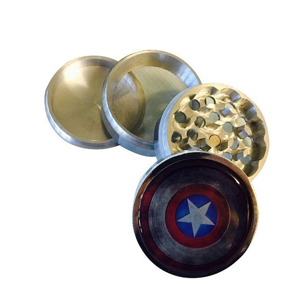 4 Piece 65ml Super Hero Grinder