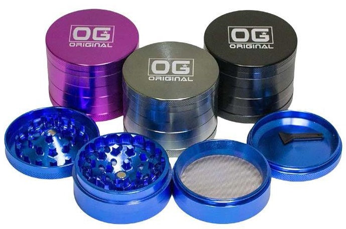 4 Piece  63mm OG Original Grinder