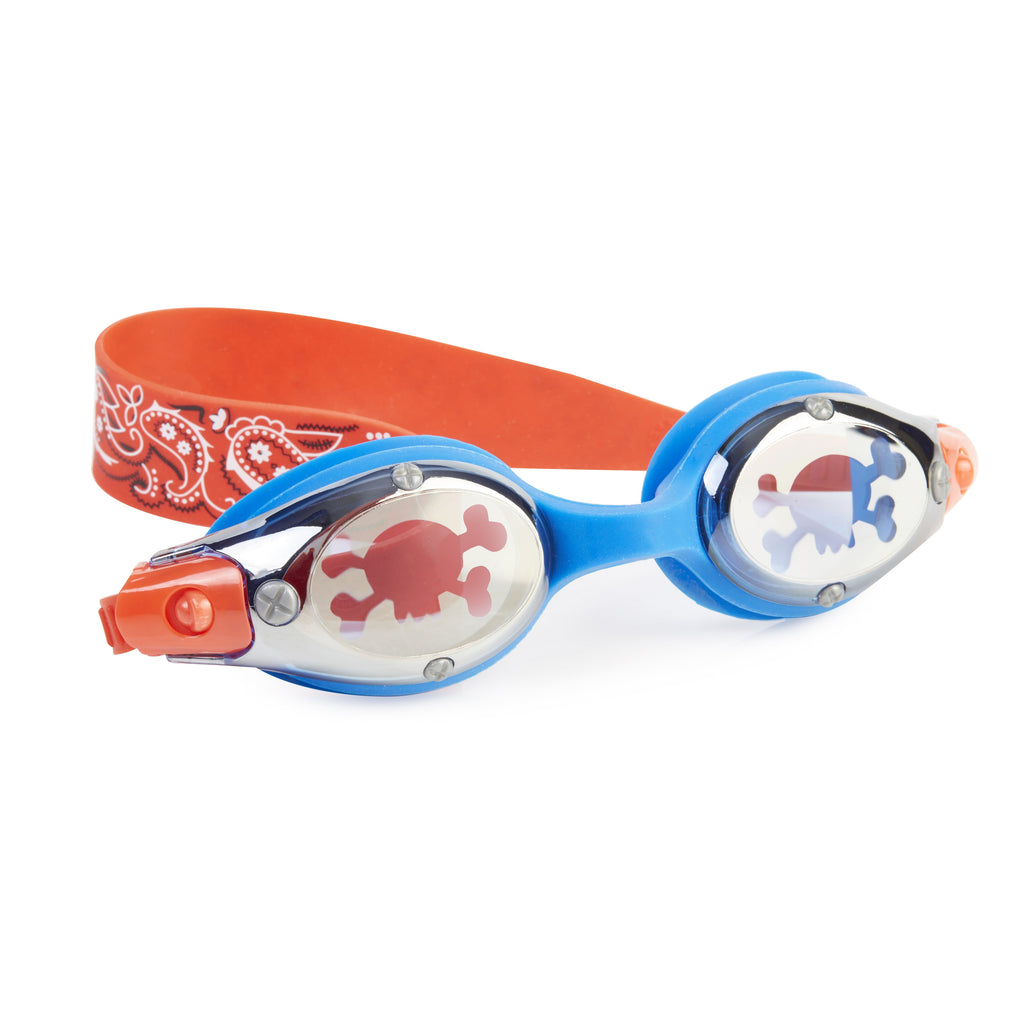 Bling 2O Goggles Black Beard Captain Red