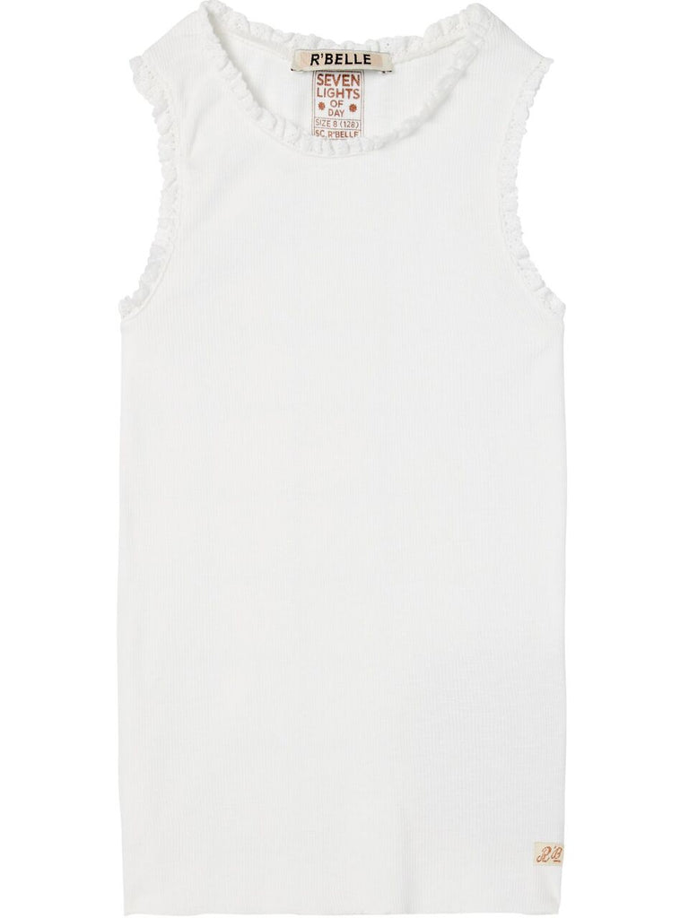 Scotch R'Belle Off White Rib Tank