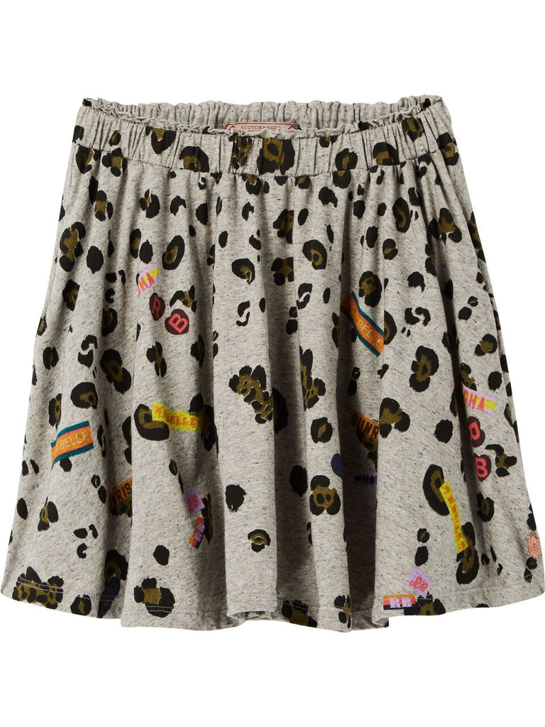 Scotch R'Belle Printed Jersey Skirt