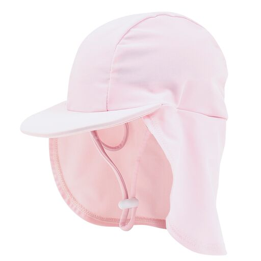 Bebe Emma Plain Legionaries Hat Pink Angel