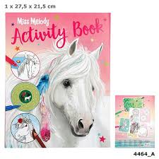Top Model Miss Melody Activity Book