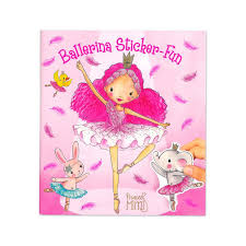 Ballerina Sticker Fun Book