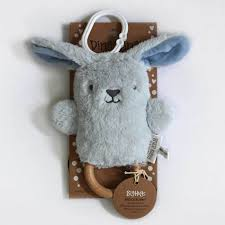 O.B. Designs Bruce Bunny Dingaring - Blue