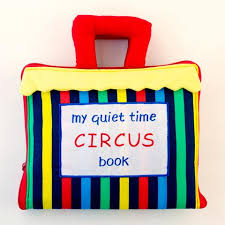Dyles Quiet Time Circus Book