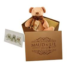 Maud n Lil Cubby The Teddy Comforter