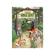 CY Jrnls & Bks Create Your Dino zoo
