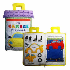 Dyles Garage Play Book