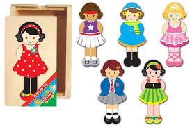 Fun Factory Dress Up Girl Puzzle