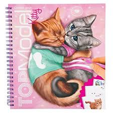 Top Model Kitty Colouring & Sticker Book