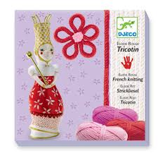 Djeco French Knitting Red