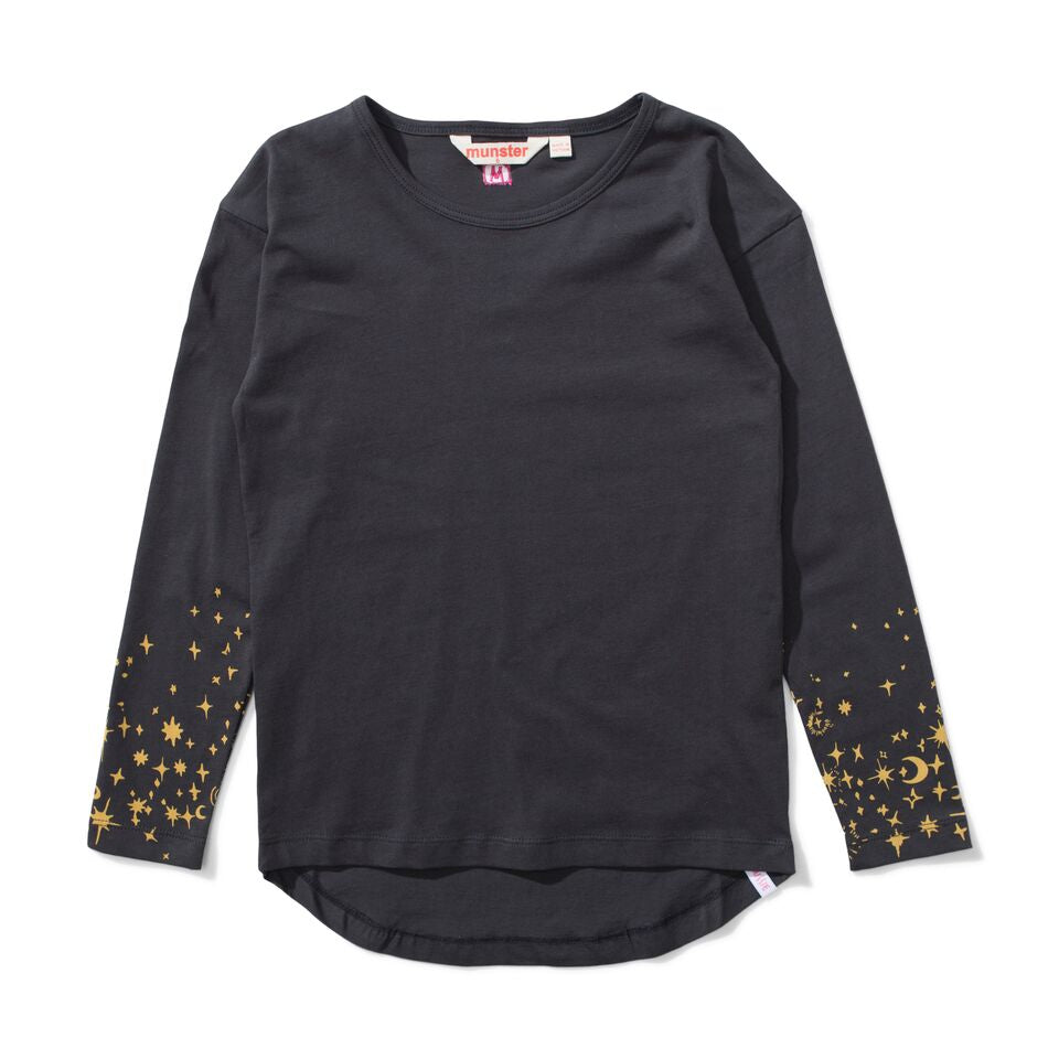 Missie Munster Maker Long Sleeve Tee - Soft Black